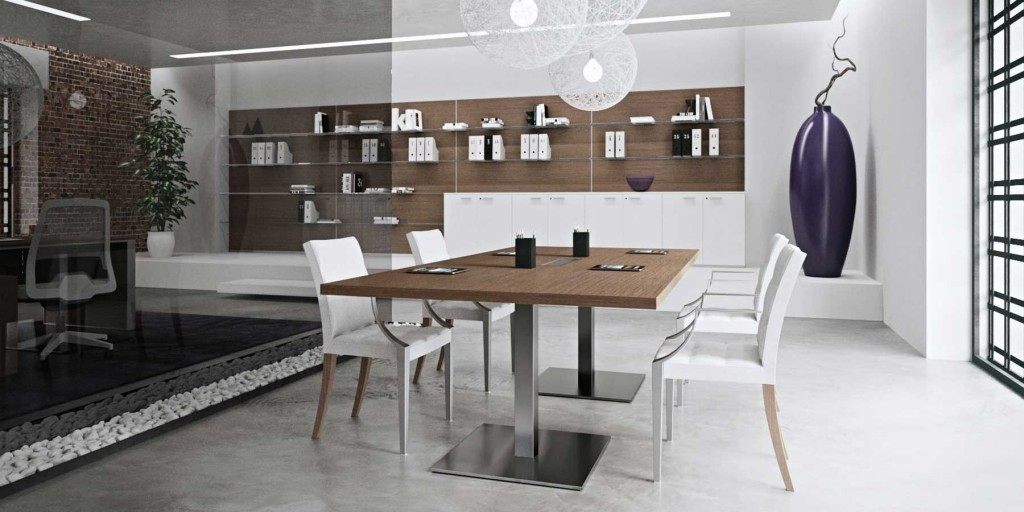 Nice Meeting Table with decoration