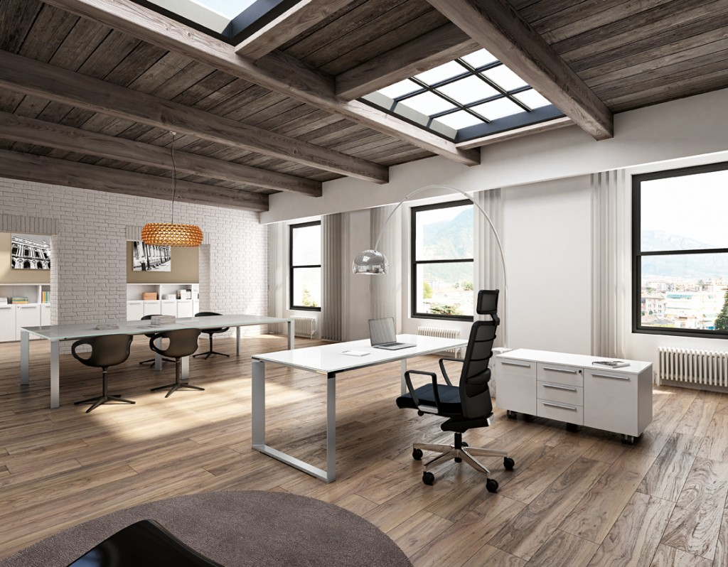 Modern Office Furniture Miami Wooden Roof