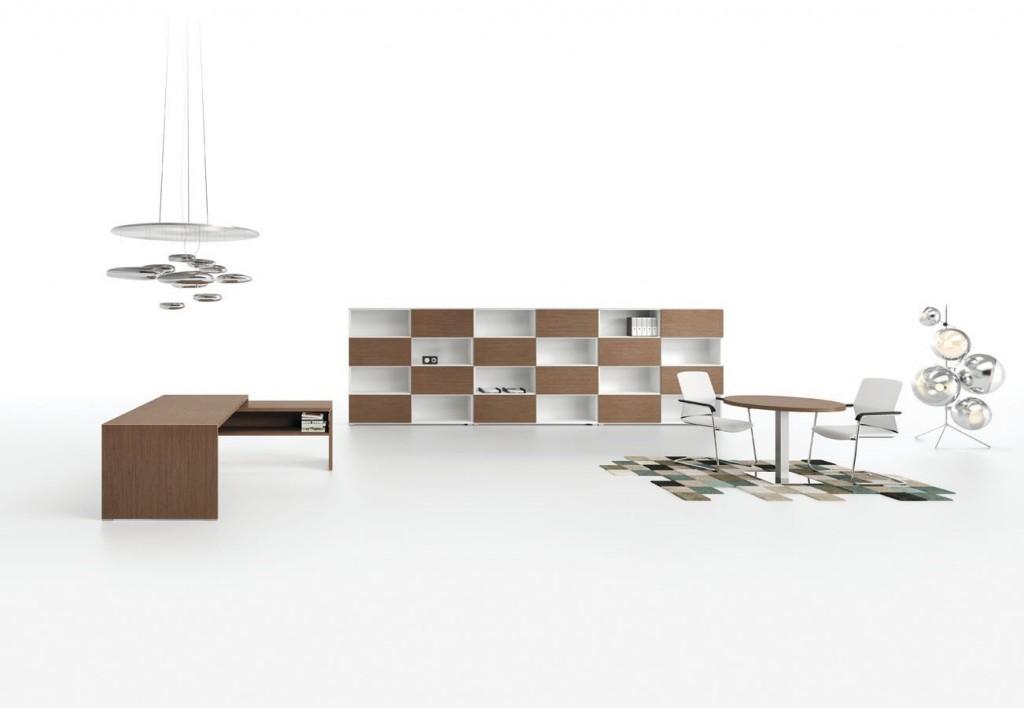wide office render