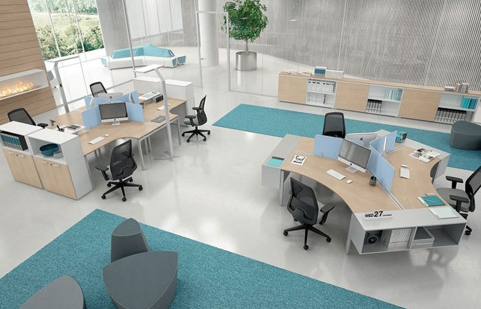 Activity-based workplace design.