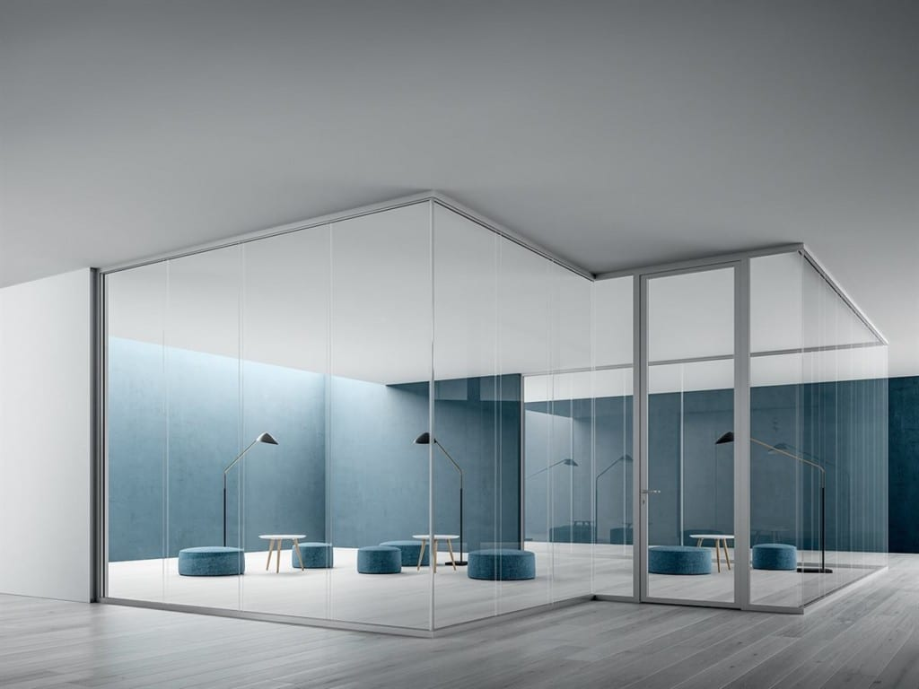 Office Furniture - Partitions Blue