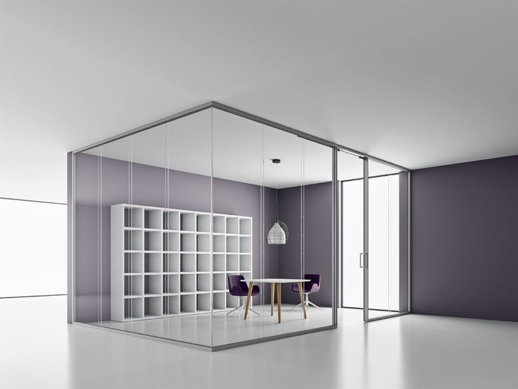 Furniture - Partitions - Dlouble Glass