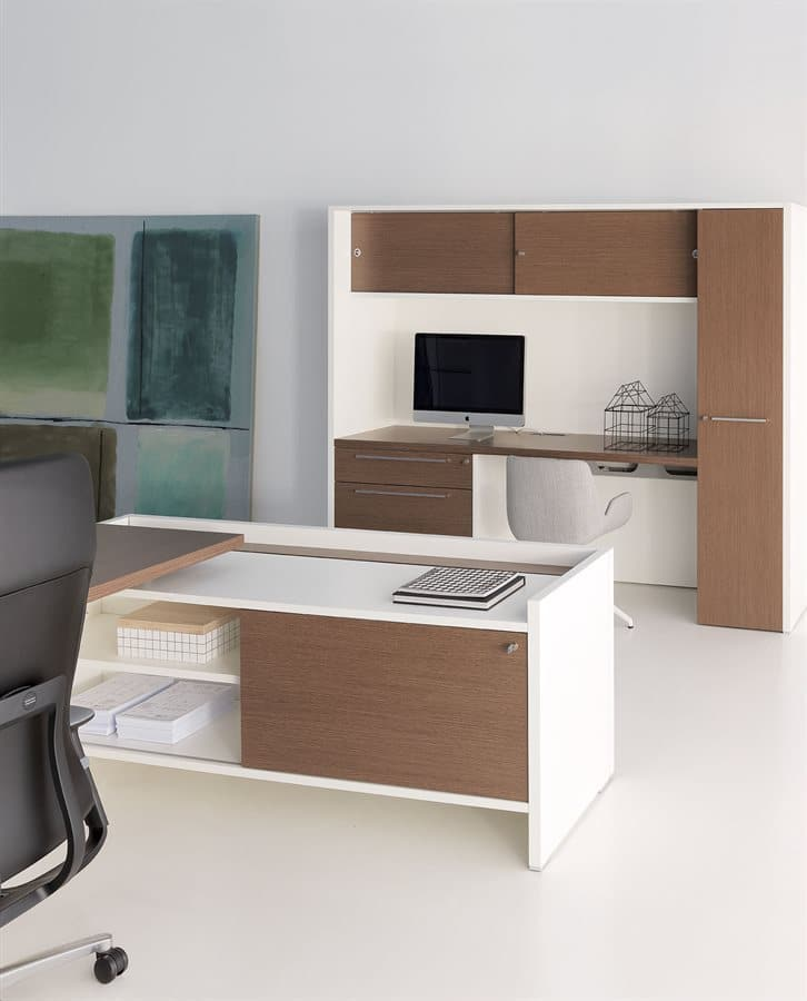 Office Desks Miami Wood