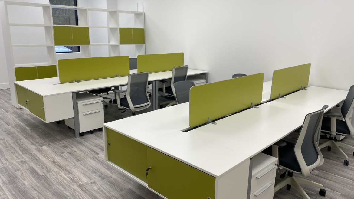 Colorful Workstations