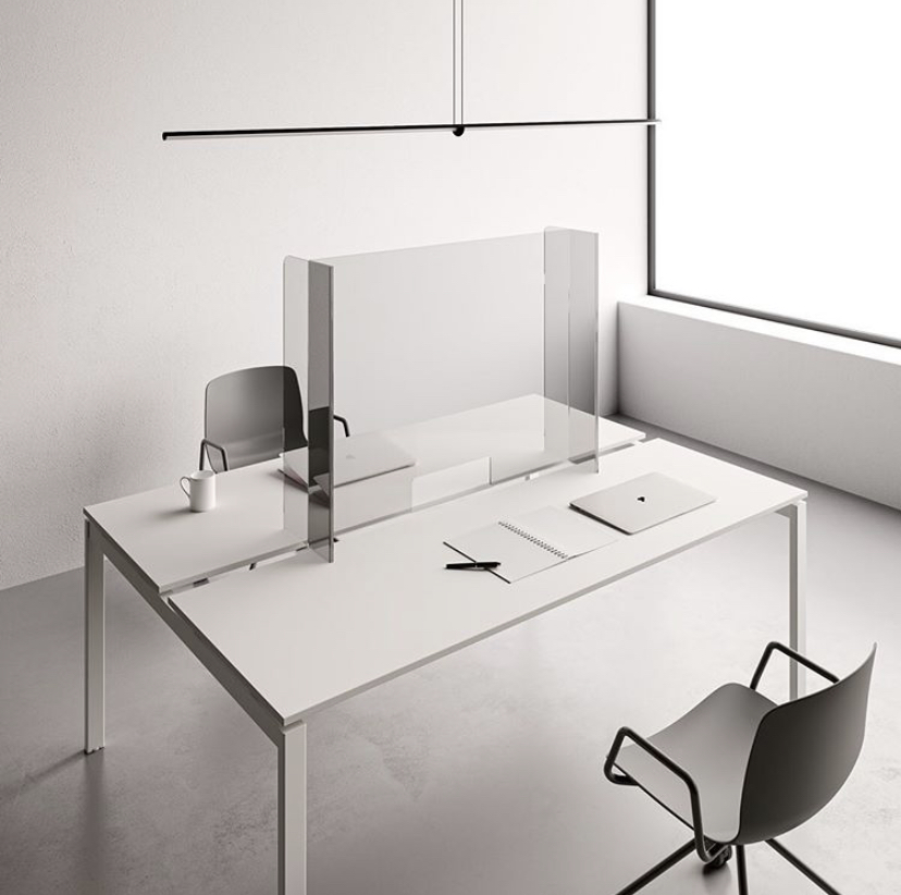 Screens and dividers for workstations
